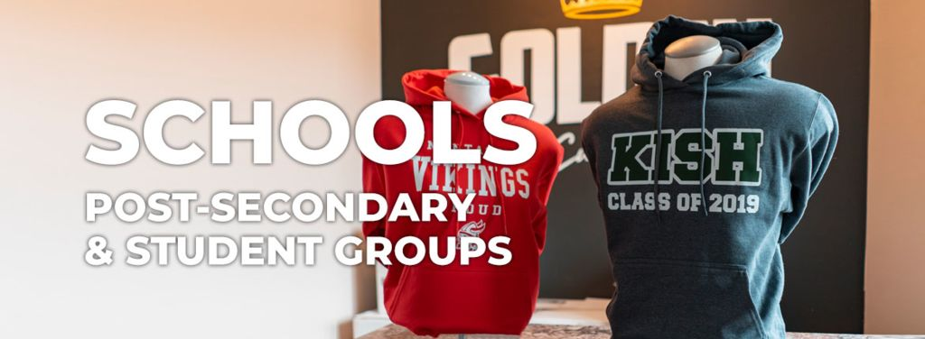 Custom clothing for schools and students
